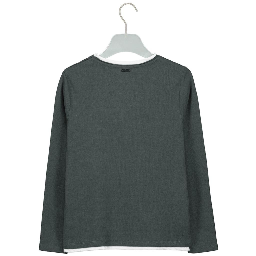 Key Largo Sweatshirt, mit rundem Halsausschnitt