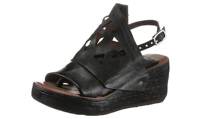 A.S.98 Sandalette »NOA«, mit modischen Cut Outs kaufen