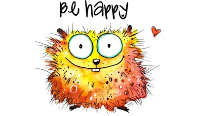 Wandtattoo »Happy Hamster« kaufen