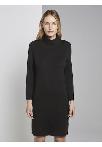 TOM TAILOR Strickkleid »Mini - Kleid mit Taschen« kaufen