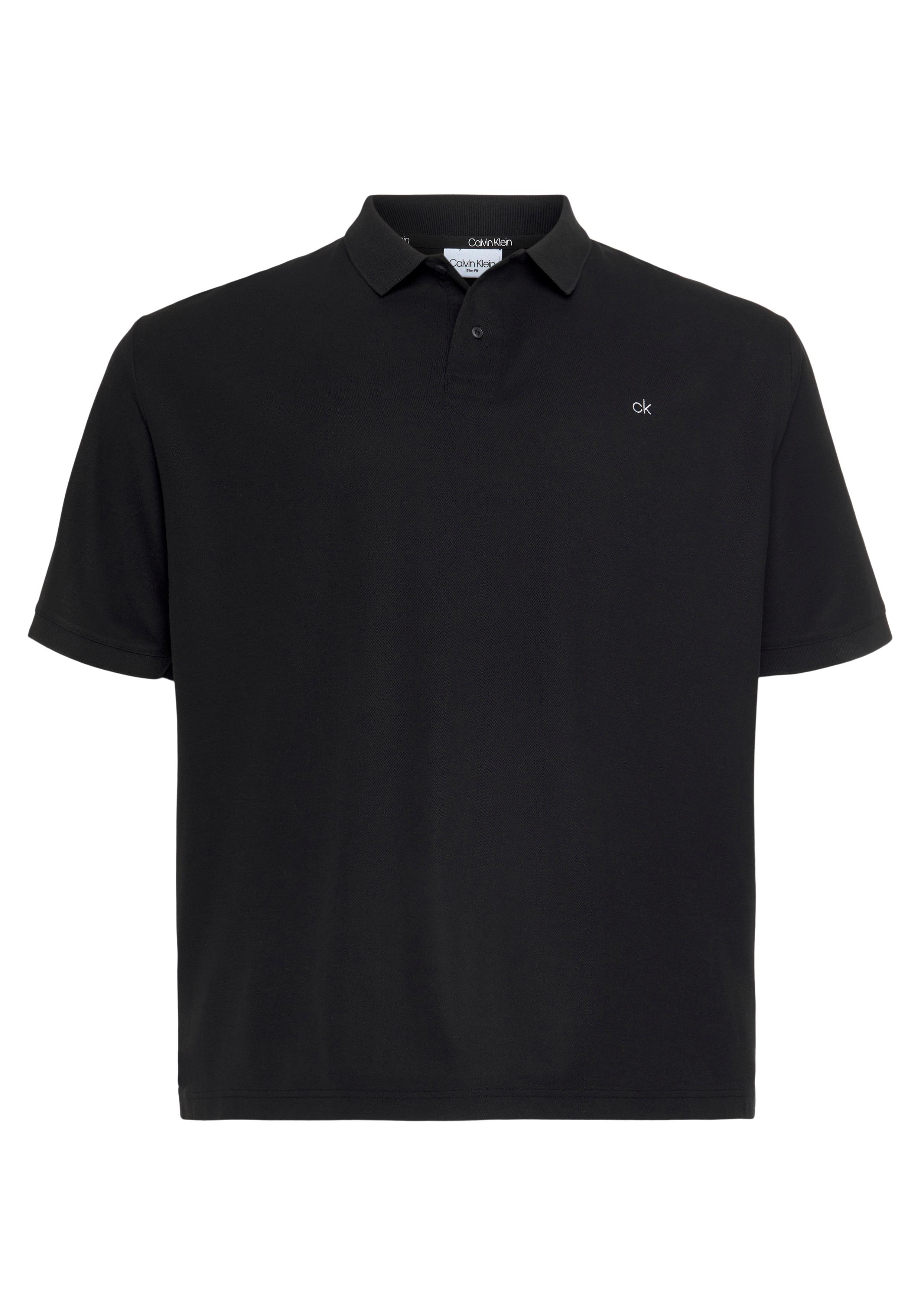 calvin klein big&tall -  Poloshirt BT-REFINED PIQUE LOGO SLIM POLO
