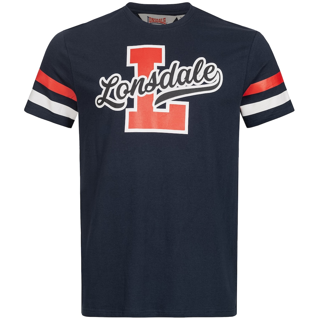 Lonsdale T-Shirt mit coolem Frontprint
