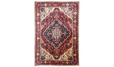 morgenland Wollteppich »Bachtiar Teppich handgeknüpft rot«, rechteckig, 12 mm Höhe kaufen