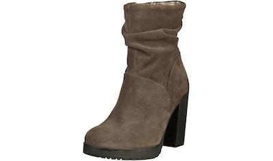 bugatti High-Heel-Stiefelette »Veloursleder« kaufen