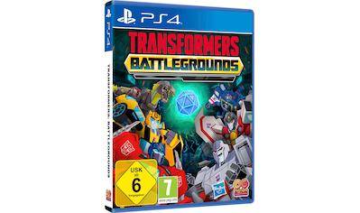 Outright Games Spiel »Transformers: Battlegrounds«, PlayStation 4 kaufen