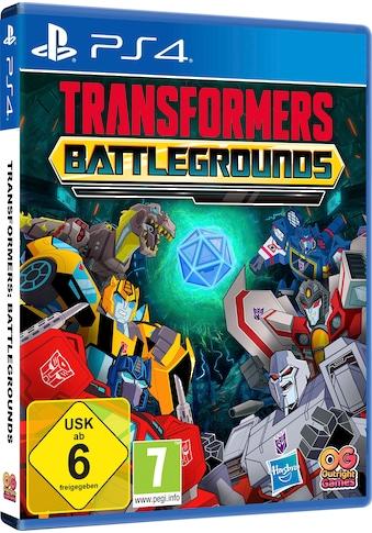 Transformers: Battlegrounds PlayStation 4 kaufen