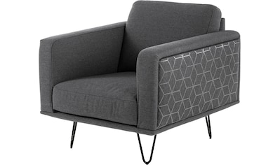 Villeroy & Boch Sessel »MIRA CARRÉ«, mit Haarnadelfuß, designed by Wilhelm Bolinth kaufen