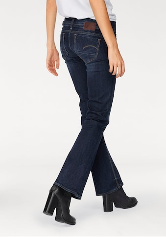 G - Star RAW Bootcut - Jeans »Midge Saddle Mid Bootleg« kaufen