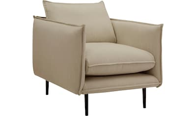 INOSIGN Sessel »Somba«, mit dickem Keder und eleganter Optik kaufen