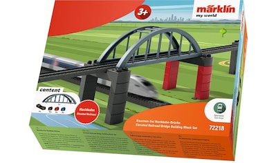 Märklin Modelleisenbahn-Hochbahn »Märklin my world - Baustein-Set Hochbahn-Brücke - 72218« kaufen