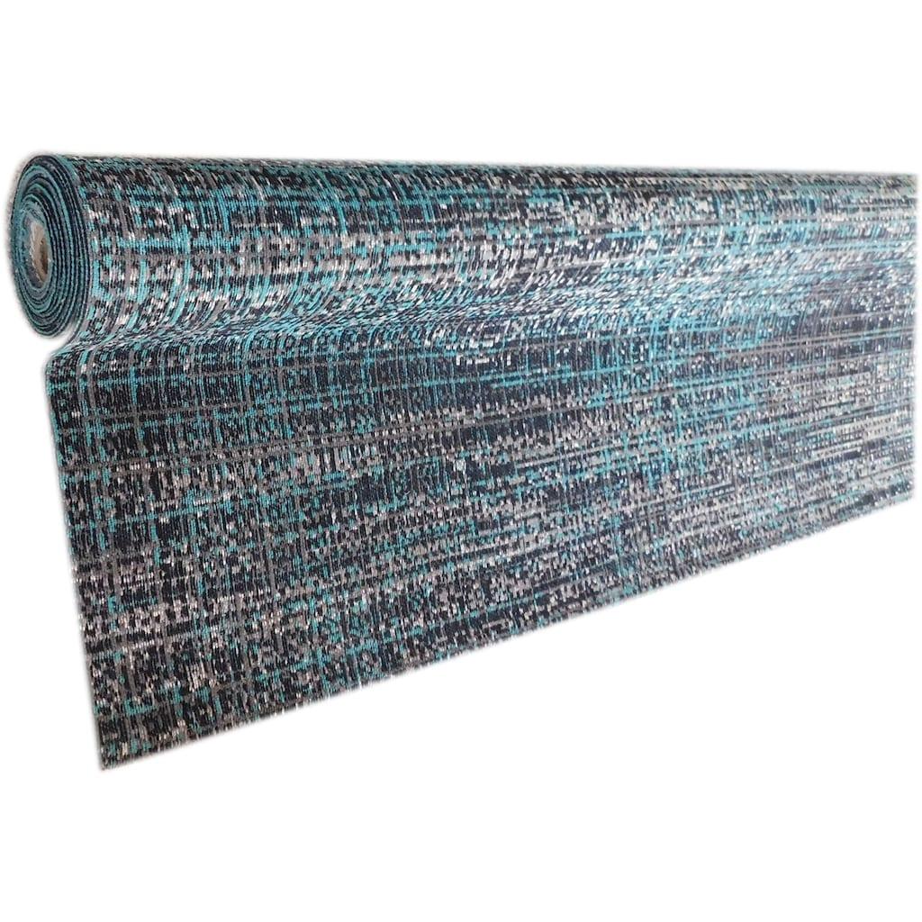 Leonique Teppich »Amana«, rechteckig, 8 mm Höhe, mit Melange-Optik, Wohnzimmer
