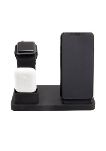 XLAYER Induktive »XLayer 3 - in - 1 Wireless Charger Black Smartphones/T« kaufen