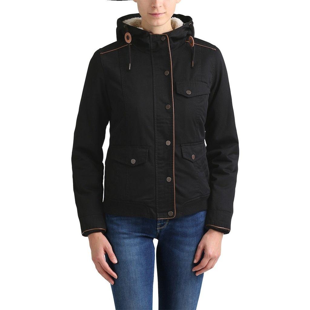 DESIRES Winterjacke »Annika«, warme Jacke mit abnehmbarem Kunstfellkragen