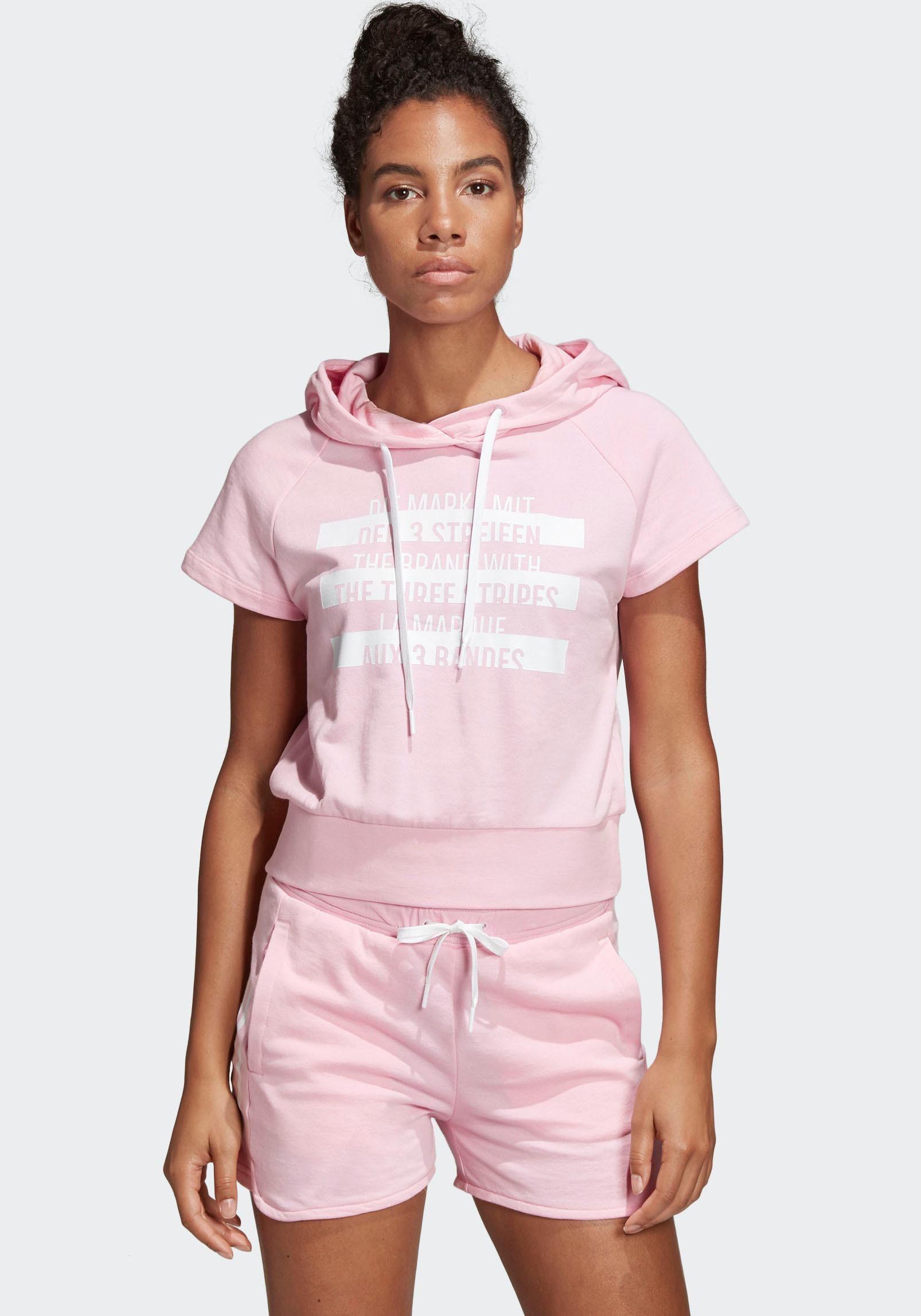 adidas Performance Kapuzenshirt SID HOOD | Bekleidung > Shirts > Kapuzenshirts | Rosa | Adidas Performance