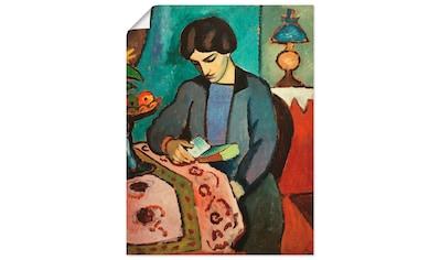 Artland Wandbild »Die Frau des Künstlers« kaufen