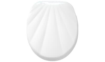 Sanilo WC - Sitz, »Muschel Weiß« kaufen