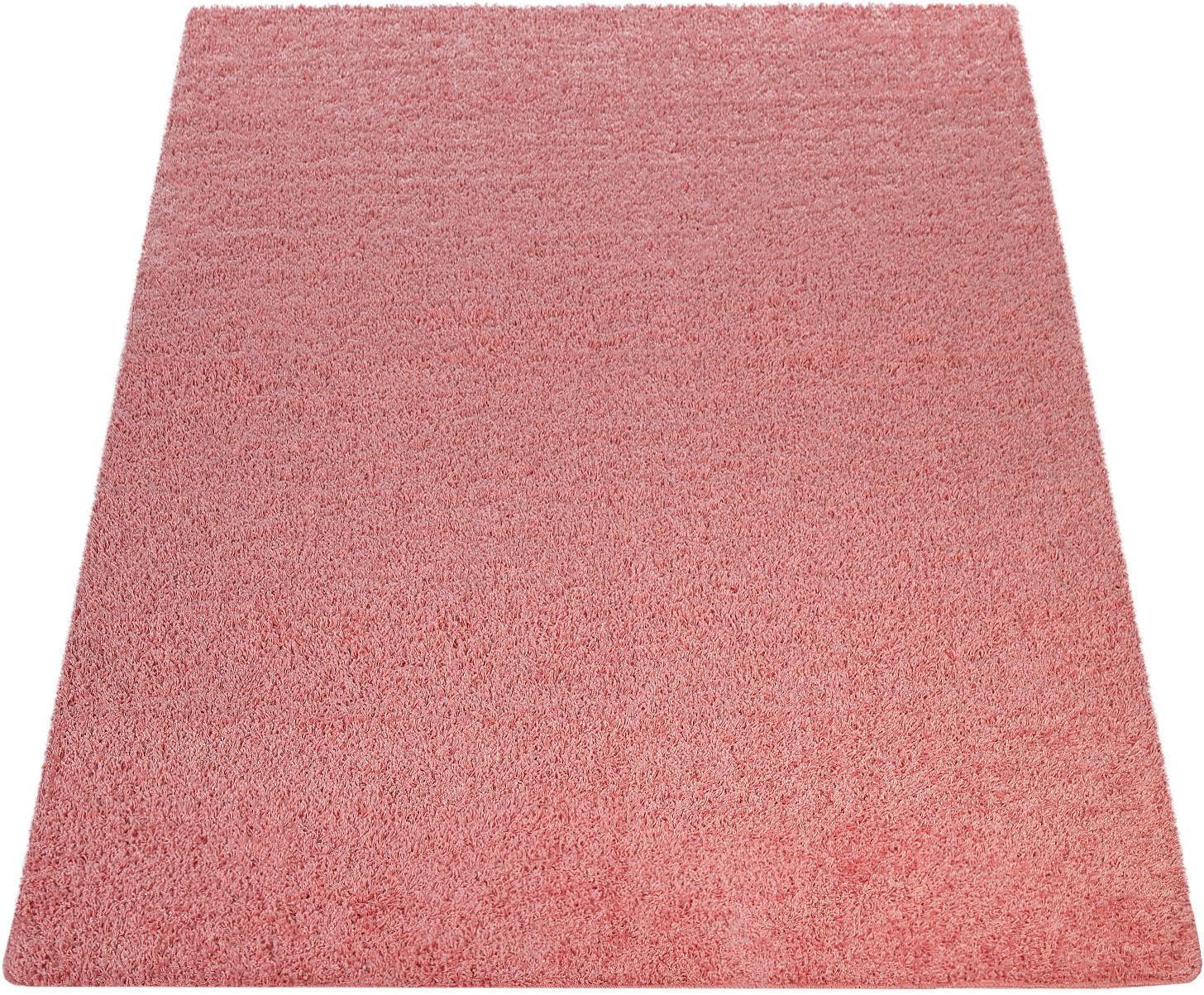 Hochflor-Teppich Vienna 200 Paco Home rechteckig Höhe 25 mm maschinell gewebt