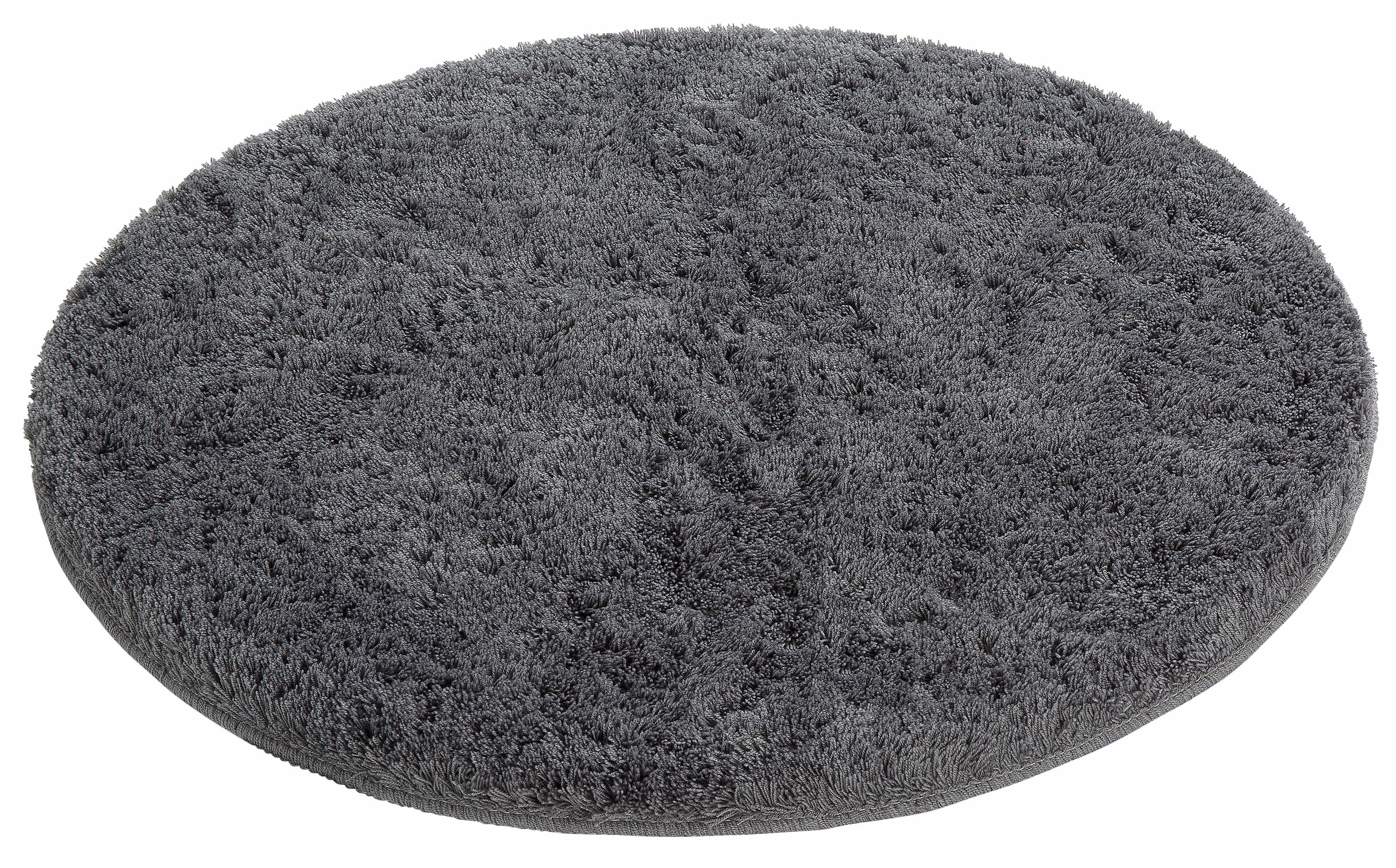 TOPSELLER: Badematte Lana Höhe 25 mm rutschhemmend beschichtet fußbodenheizungsgeeignet Bruno Banani silberfarben 1 (rechteckig 55x50 cm),2 (rechteckig 50x90 cm),3 (rechteckig 60x100 cm),4 (rechteckig 70x110 cm),5 (rechteckig 80x150 cm),6 (rechteckig 90x1