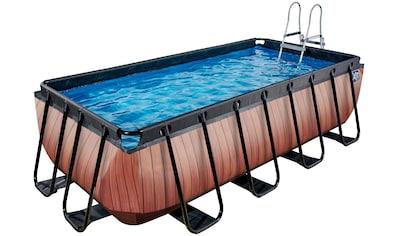 EXIT Framepool, (Set), BxLxH: 200x400x100 cm, mit Sandfilter kaufen