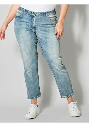 Janet & Joyce by HAPPYsize Slim-fit-Jeans, knöchellang kaufen