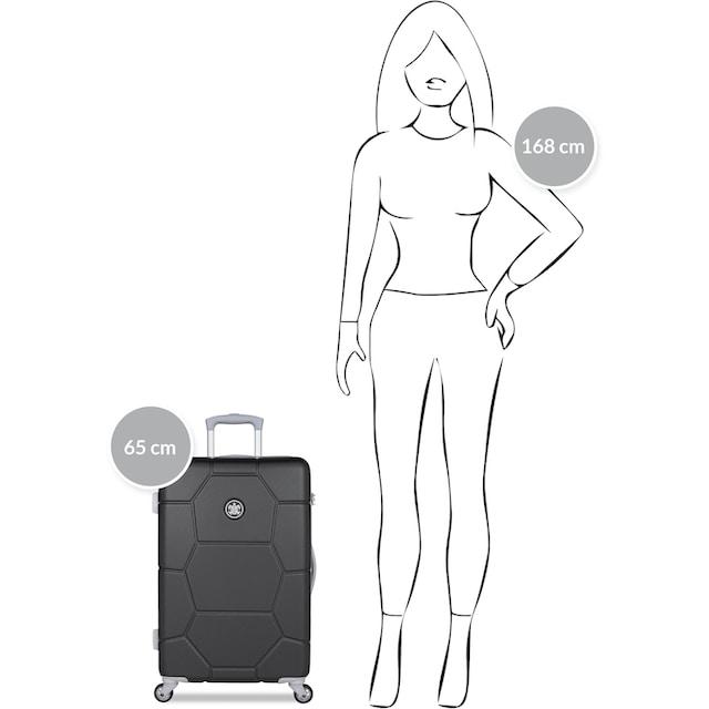 """suitsuit Hartschalen-Trolley """"Caretta, 65 cm"""", 4 Rollen"""