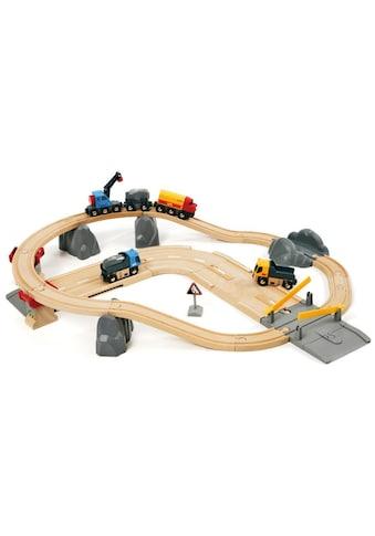 """BRIO® Spielzeug - Eisenbahn """"BRIO® WORLD Straßen & Schienen Steinverlade Set"""" (Set) kaufen"""