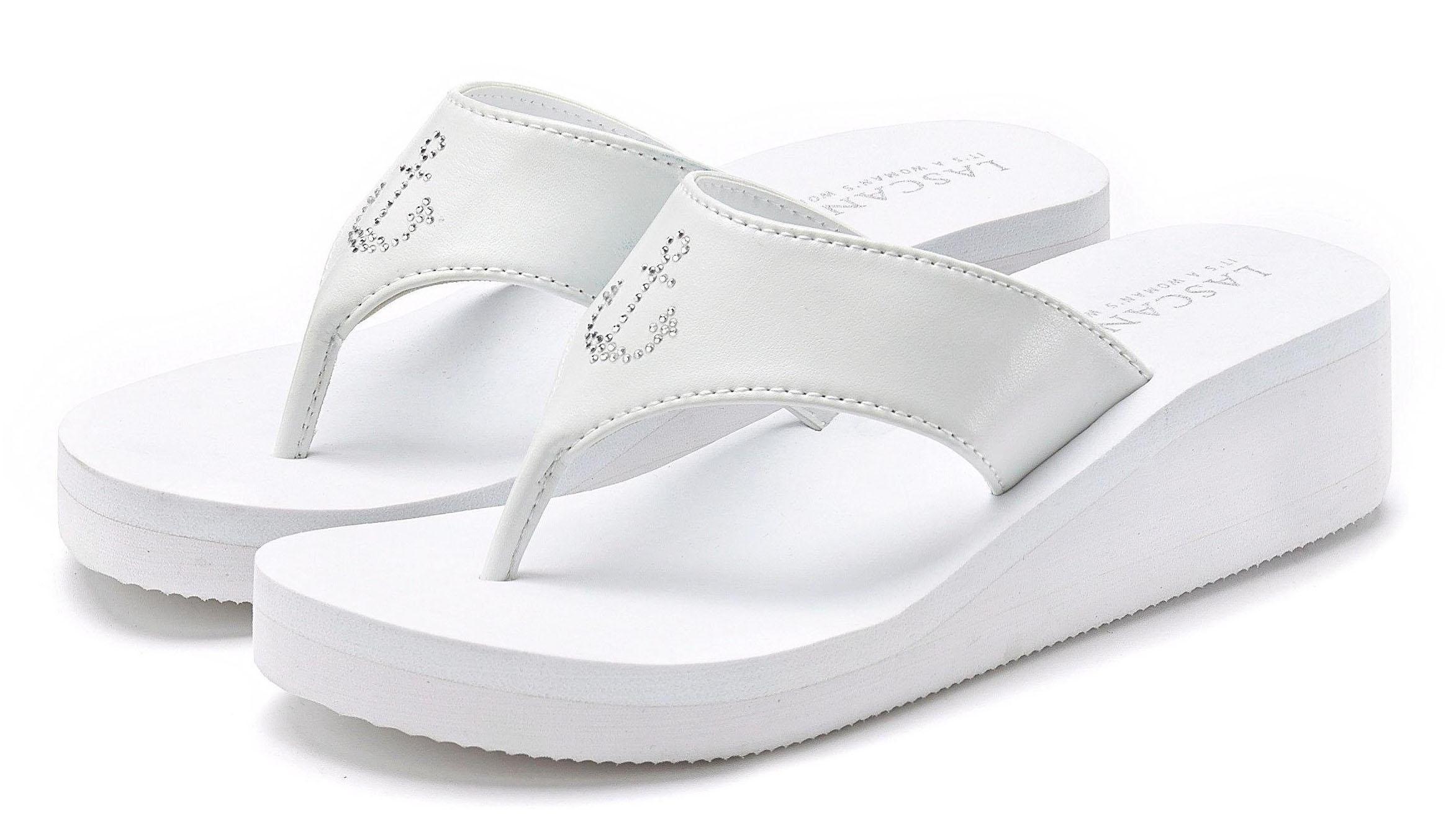 LASCANA Zehentrenner | Schuhe > Sandalen & Zehentrenner > Zehentrenner | Lascana