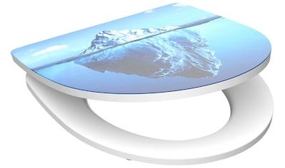 SCHÜTTE WC - Sitz »Iceberg«, mit Absenkautomatik kaufen