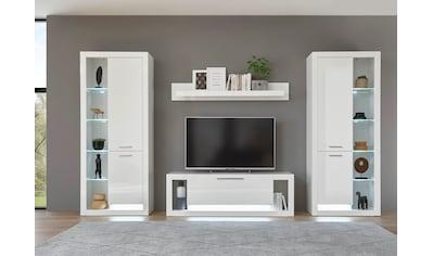 Places of Style Wohnzimmer-Set »Meran«, (4 tlg.), im modernen Design kaufen