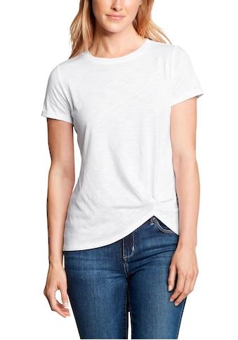 Eddie Bauer T-Shirt, Gatecheck Twist Front - Kurzarm kaufen