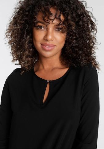 Tamaris Shirtbluse, mit Schlitzdetails - NEUE KOLLEKTION kaufen