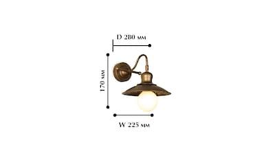 FAVOURITE Wandleuchte »Magrib«, mit lakonischem Gestell kaufen