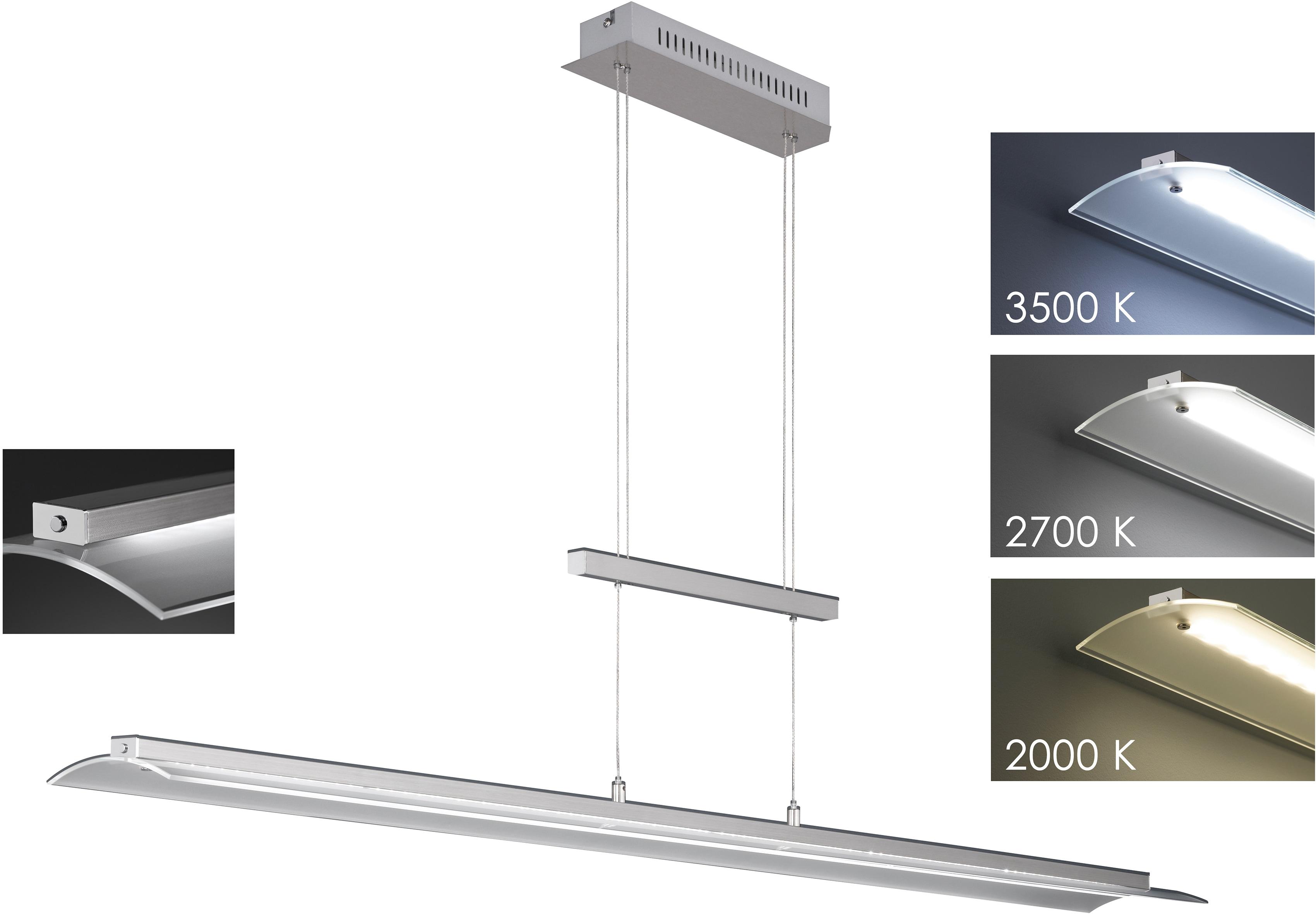 FISCHER & HONSEL LED Pendelleuchte Roof, LED-Modul, Warmweiß-Neutralweiß