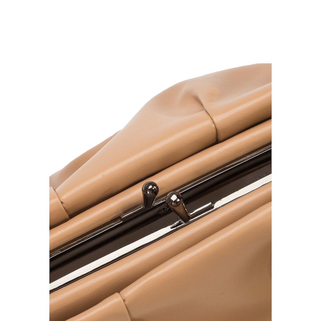 ekonika Henkeltasche, aus hochwertigem Leder
