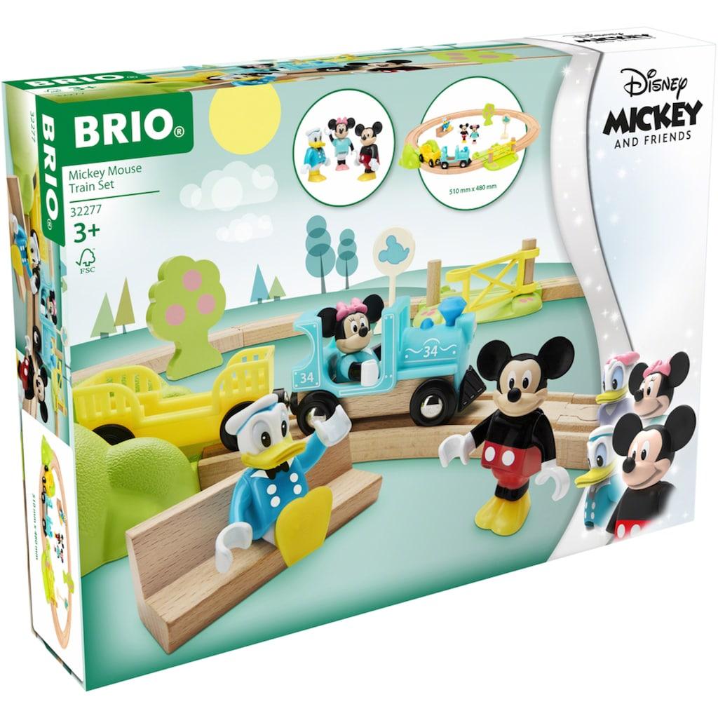 BRIO® Spielzeug-Eisenbahn »Micky Maus«, FSC® - schützt Wald - weltweit