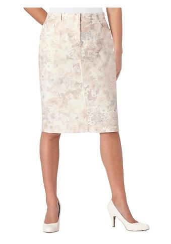 Cosma Rock mit farbharmonischem Blüten - Druck kaufen