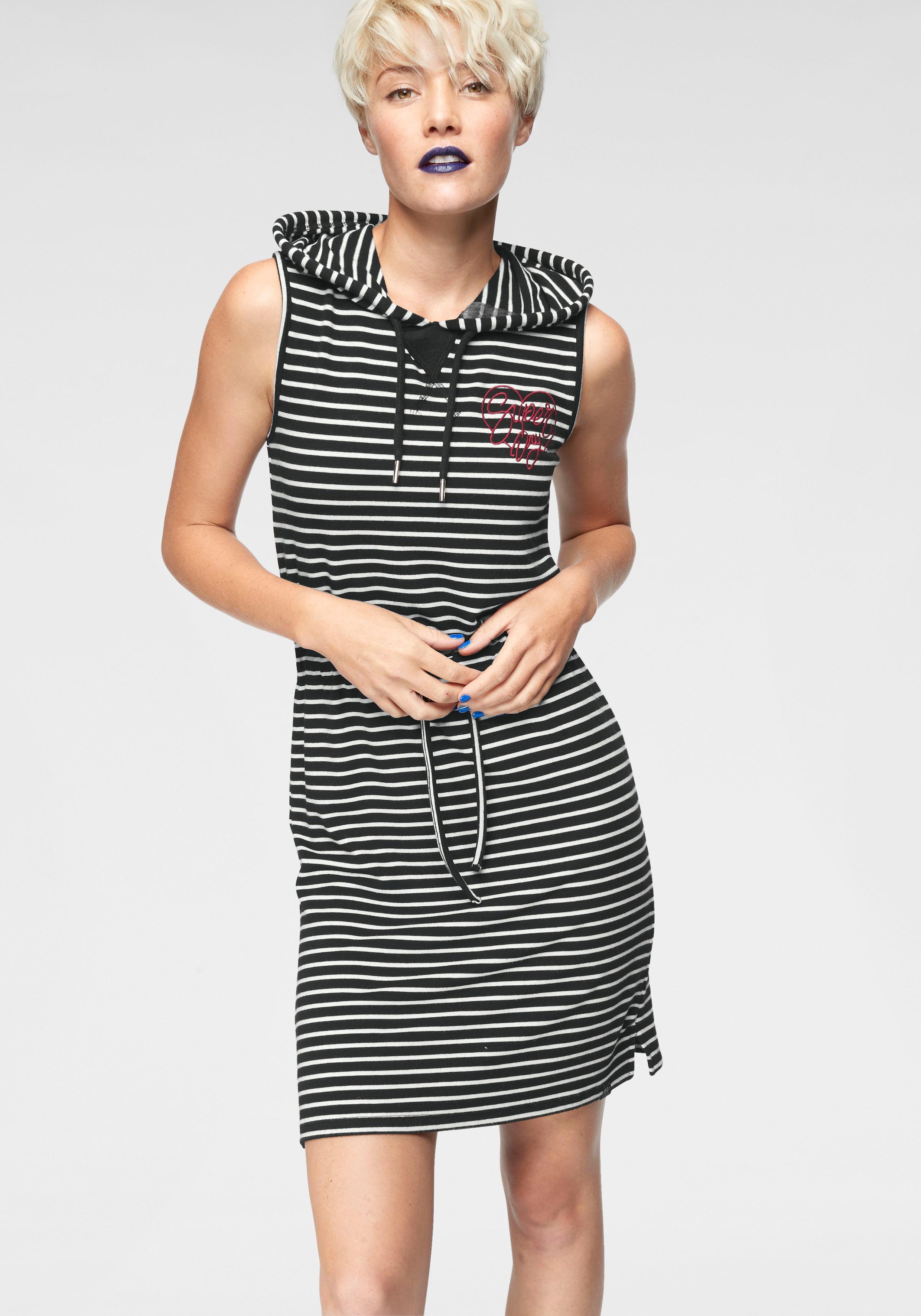 75c8253548f7 Superdry Jerseykleid BOUTIQUE SUPERSOFT DRESS