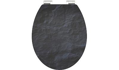Schütte WC-Sitz »MDF WC- Sitz mit Holzkern und Absenkautomatik High Gloss Dekor«, mit Absenkautomatik kaufen