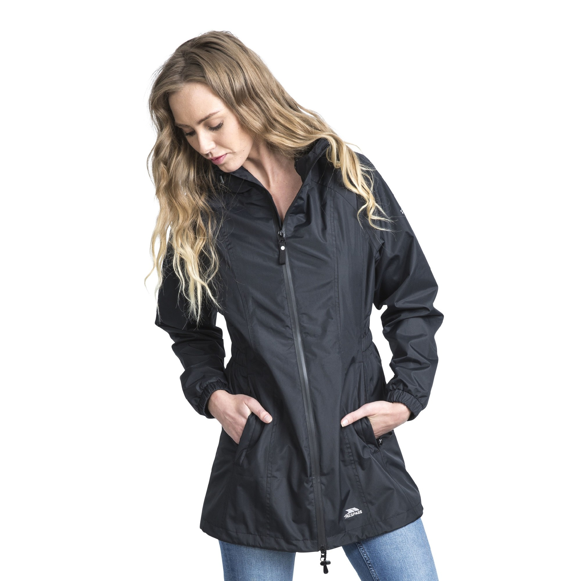 Trespass Softshelljacke Damen Shelljacke Daytrip mit Kapuze
