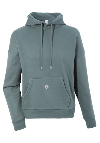 M.X.O Kapuzensweatshirt, Damen kuscheliger Kapuzensweater mit Stickerei kaufen