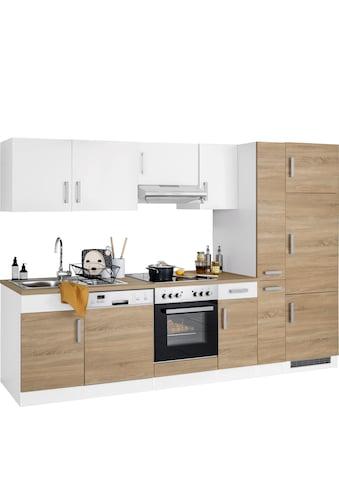HELD MÖBEL Küchenzeile »Gera«, mit E-Geräten, Breite 300 cm kaufen