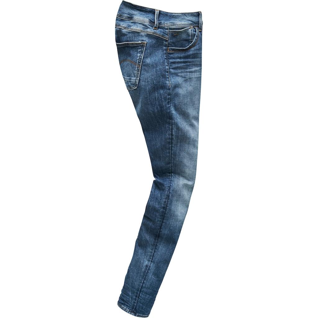 G-Star RAW Skinny-fit-Jeans »Lynn D-Mid Waist Super Skinny«, feminine Variante der klassischen 5-Pocket-Jeans