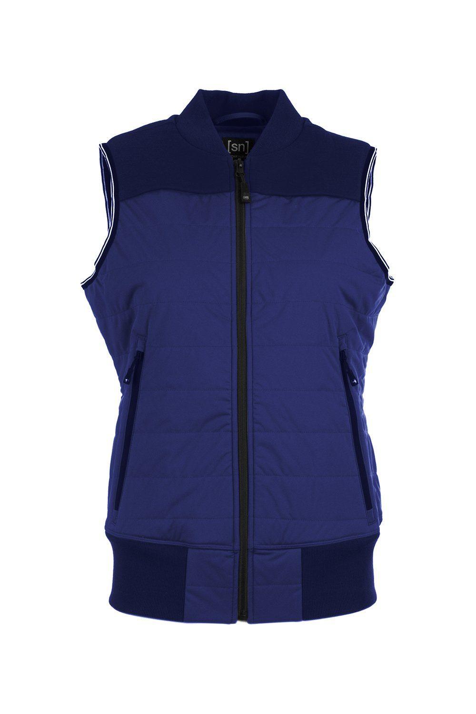 SUPERNATURAL Softshellweste W ACTIVE VEST | Sportbekleidung > Sportwesten > Softshellwesten | Blau | Super.Natural