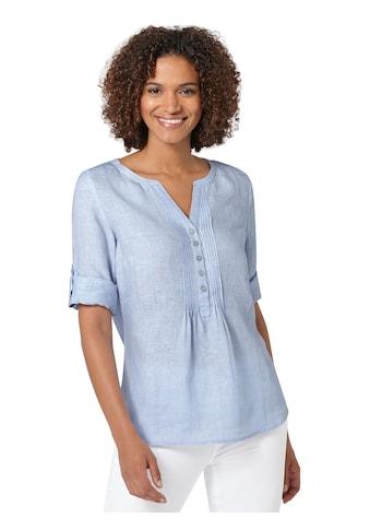 Bluse mit gerundetem Saum kaufen