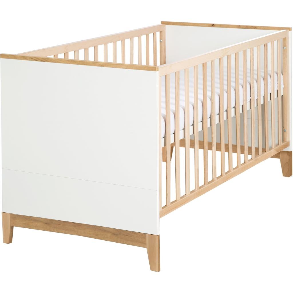 roba® Babybett »Kombi-Kinderbett Finn mit Standfüßen«