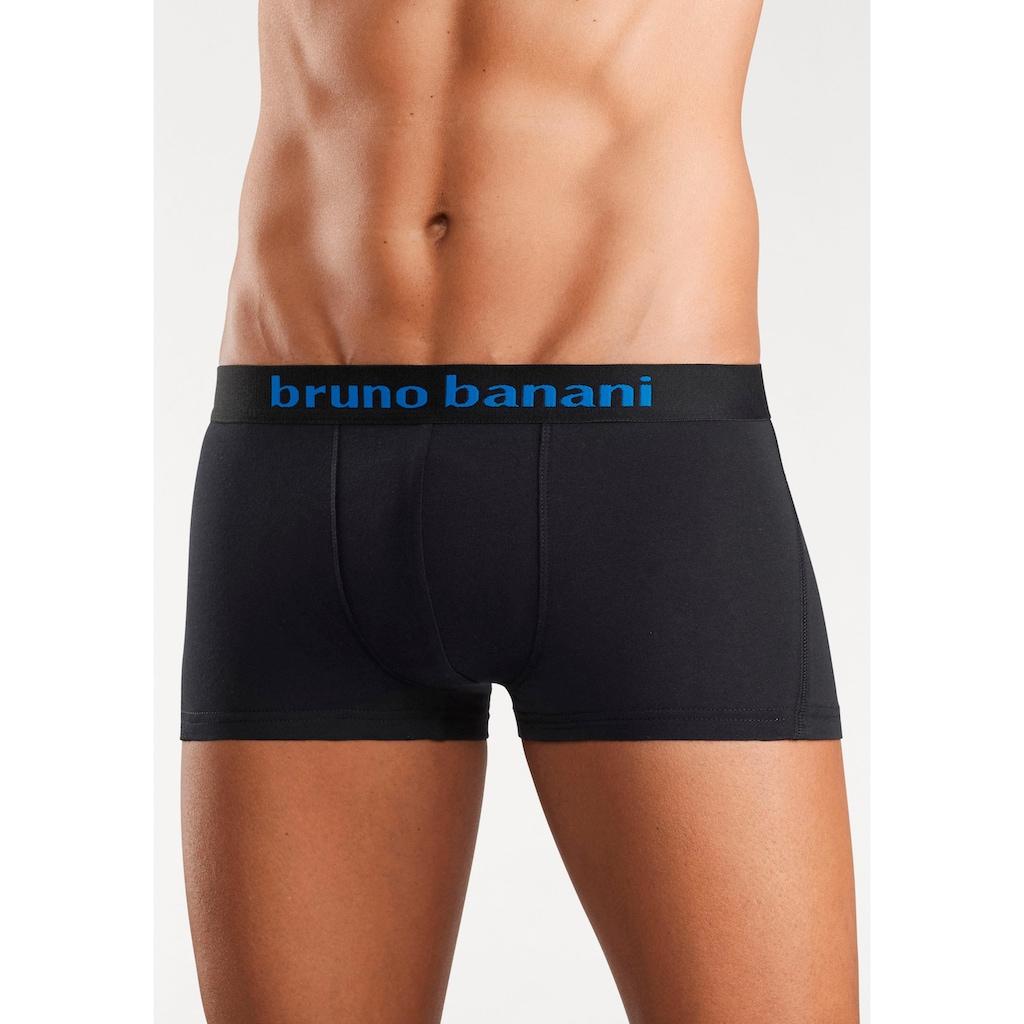 Bruno Banani Hipster, (Packung, 4 St.), Mit Logo Webbund