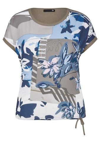 Thomas Rabe Print-Shirt, mit Front-Print und Tunnelzug kaufen