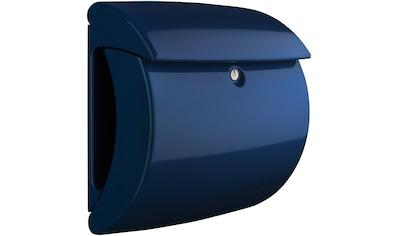 BURG WÄCHTER Briefkasten »Briefkasten in Klavierlack - Optik, Piano 886 MB«, Marine Blue kaufen
