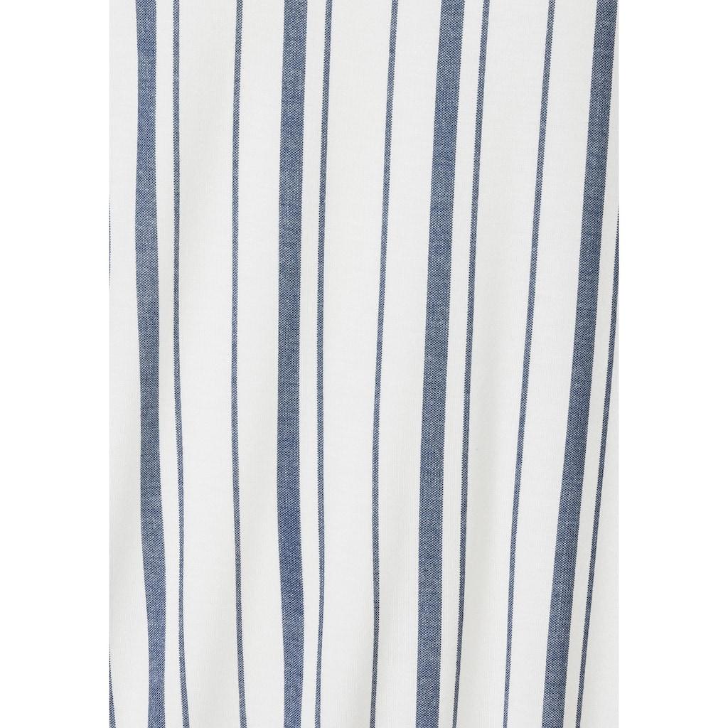 Beachtime T-Shirt, mit modischem Streifen