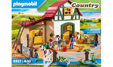 Playmobil® Konstruktions-Spielset »Ponyhof (6927), Country«, Made in Germany kaufen